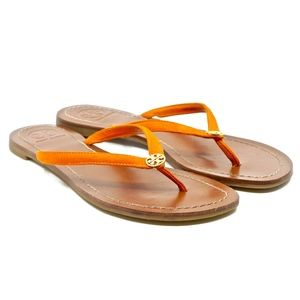 TORY BURCH~terra~LEATHER THONG SANDAL/FLIP-FLOP